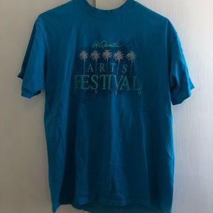 La Quinta Arts Festival Vintage 1989 80's T Shirt